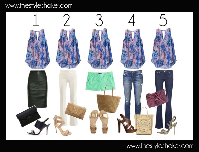 5 ways to wear the tank tutorial img