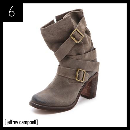 6 Jeffrey Campbell France Suede Boots