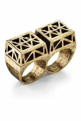 6 Low Luv By Erin Wasson Double Finger Ring