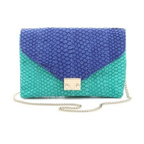 shop the Loeffler Randall The Lock Clutch