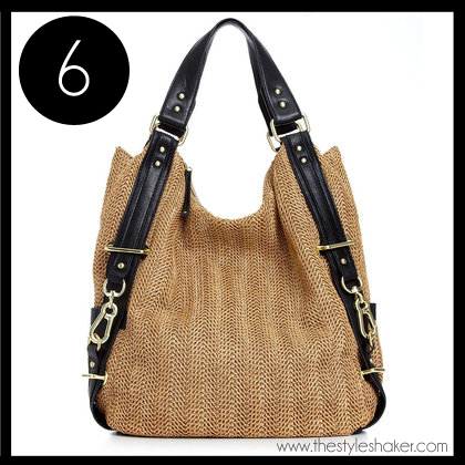 6 Olivia and Joy Instigator Double Handle Hobo