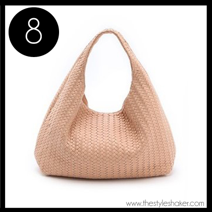 8 Deux lux Greenwich Studded Hobo
