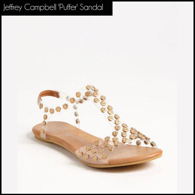 8 Jeffrey Campbell 'Puffer' Sandal