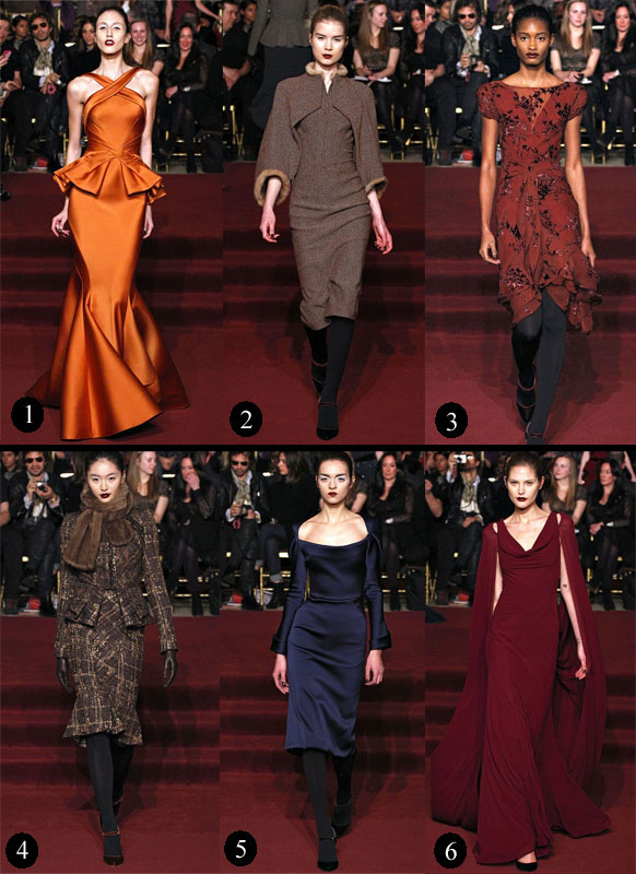 Fall Fashion Week Zac Posen