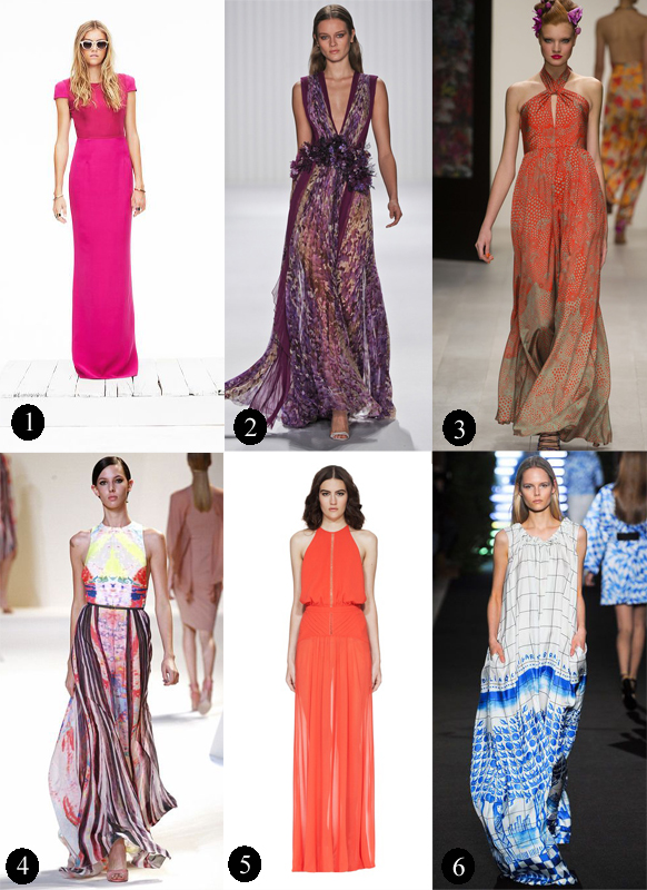 runway montage_maxi dress