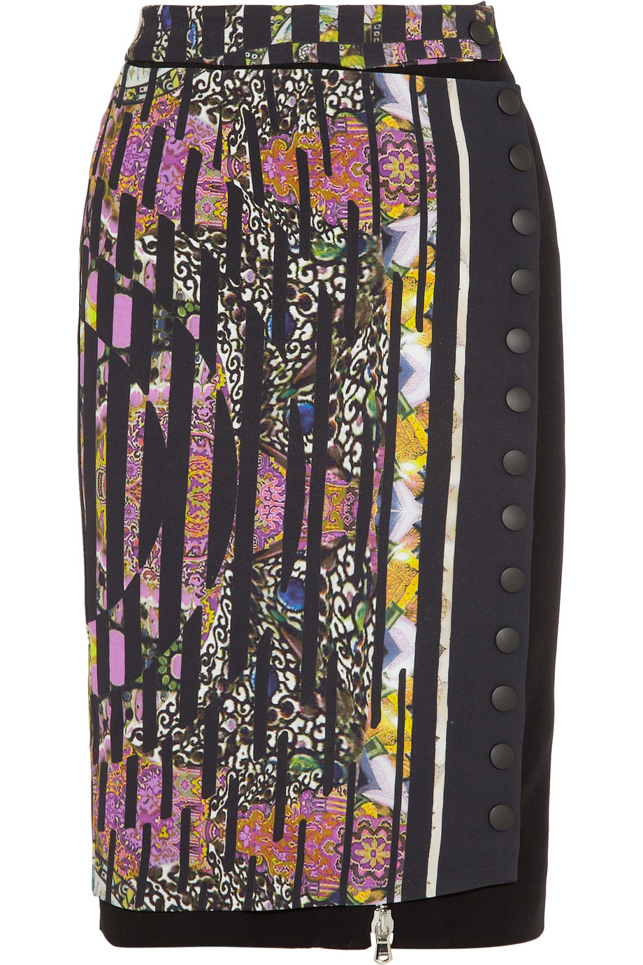 Etro Printed Pencil Skirt