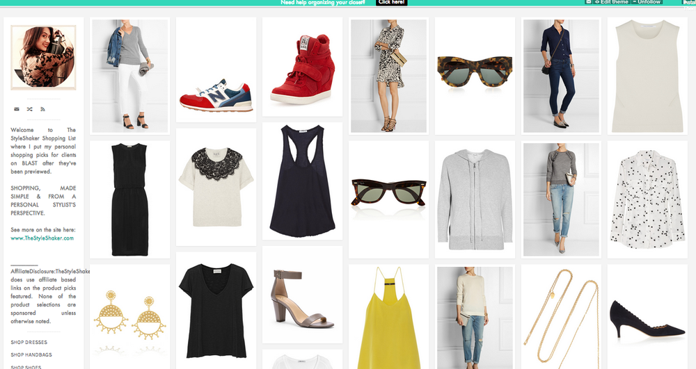 CLICK TO CHECK OUT THE STYLESHAKER SHOPPING LIST!