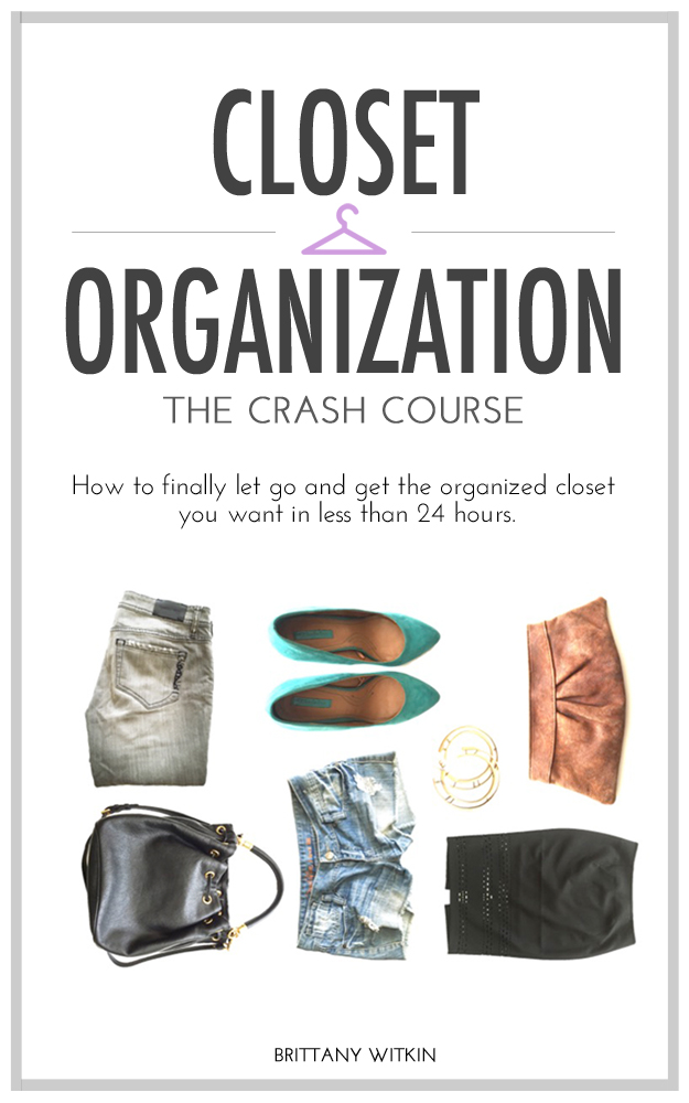 Get the Closet Organization Crash Course kindle book today and in less than 24 hours, open the doors to the clutter-free closet you've always wanted.