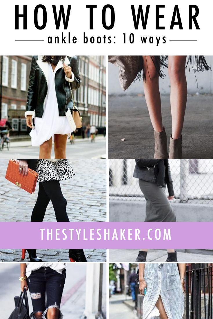 Fashion week How to fringe wear ankle boots for woman