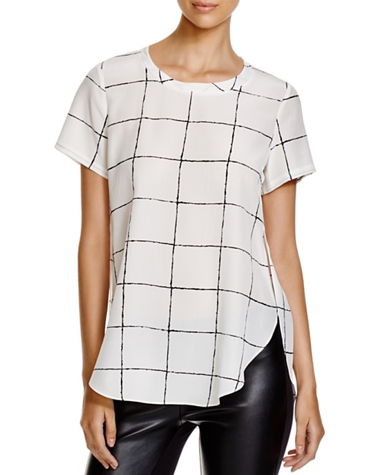 Dylan Gray Windowpane Tee • $64.50 • Bloomingdale's