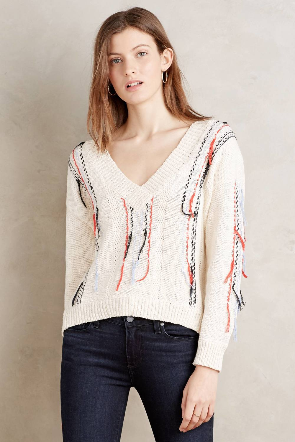 Romy & Ray Seaport Stripe Pullover