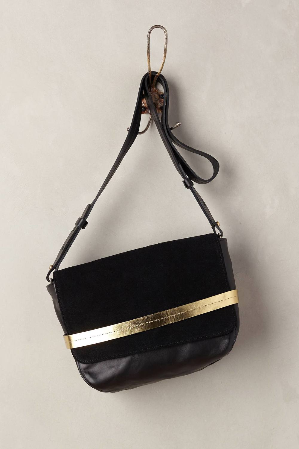 Clare V Lou Crossbody Bag Black One Size Bags