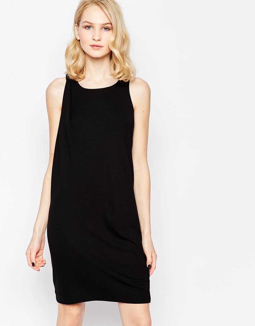 shop the French Connection Sadie Drape Tunic Dress