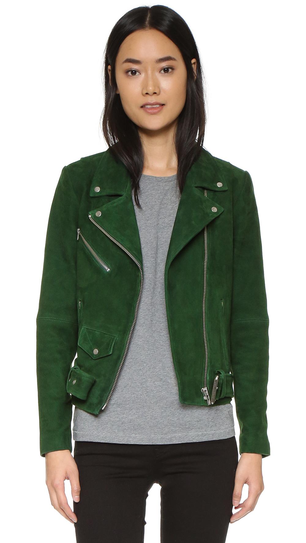 shop the VEDA Jayne Suede Jacket