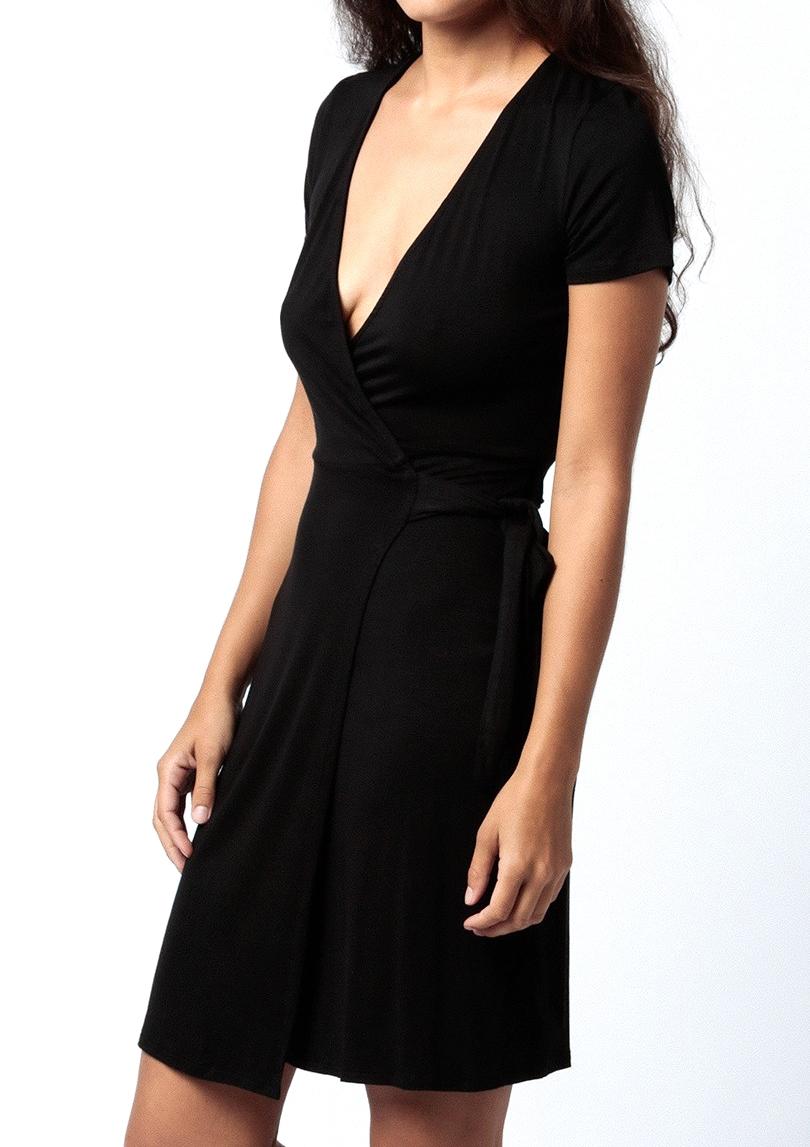 shop the Lionel Wrap Dress