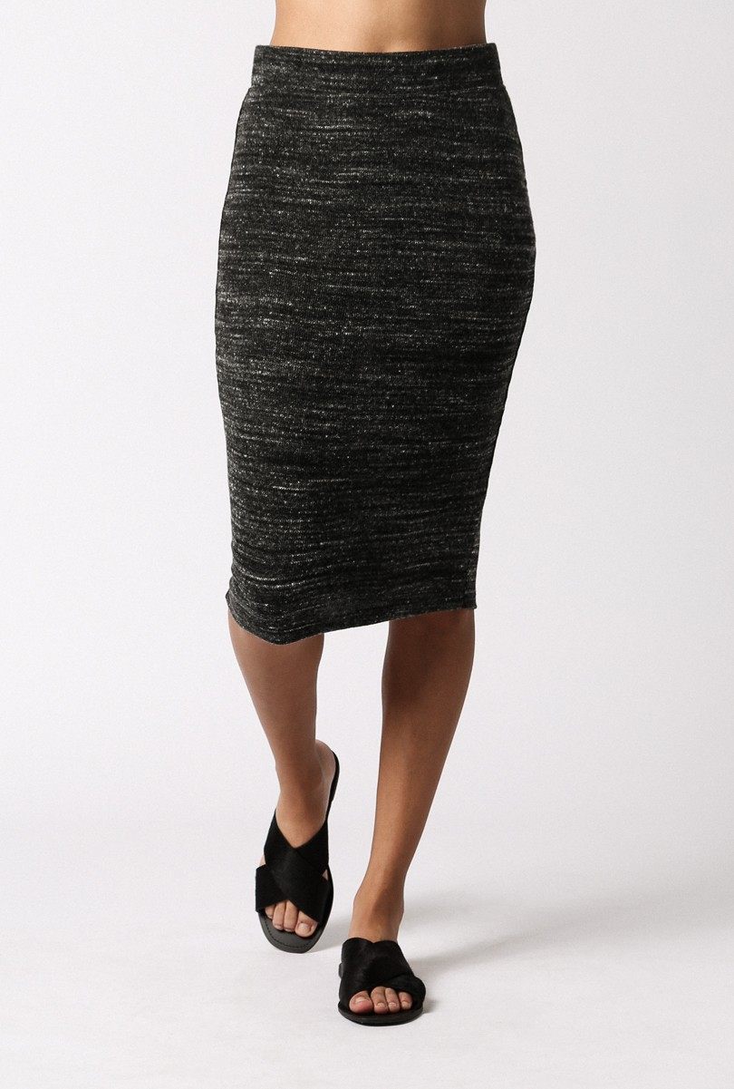 shop the LNA Pernille Fitted Skirt