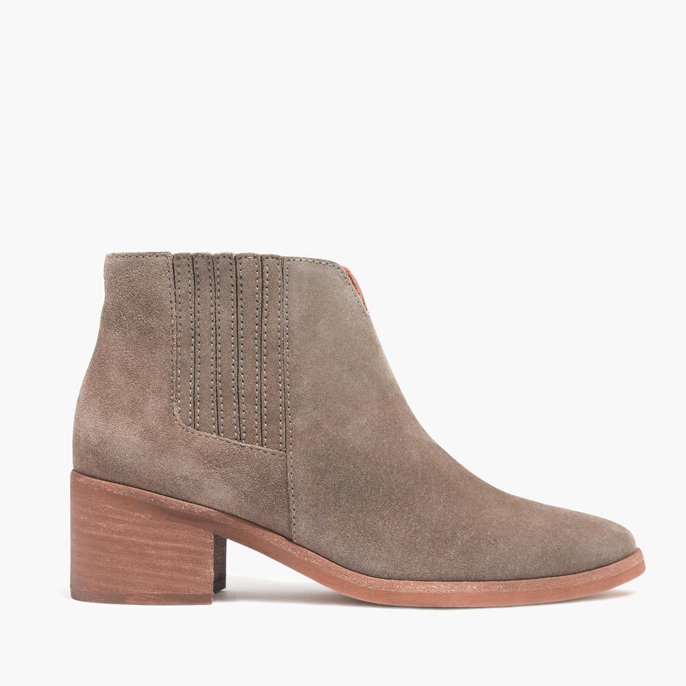 shop Madewell's The Joni Boot in Suede