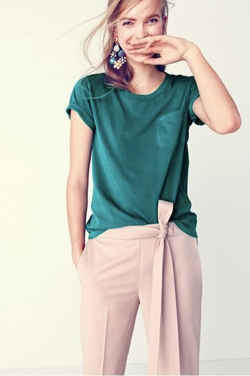 found on j.crew.com Perfect for: Rectangle & Hourglass Body Types