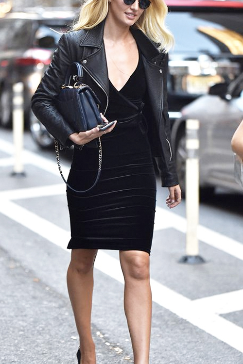 Black Dresses with Jackets