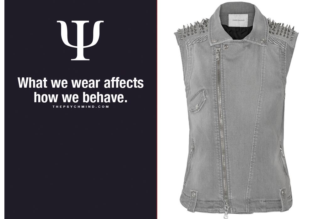 Right- Pierre Balmain Embellished denim vest