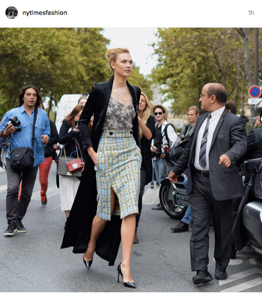 found on instagram @nytimesfashion