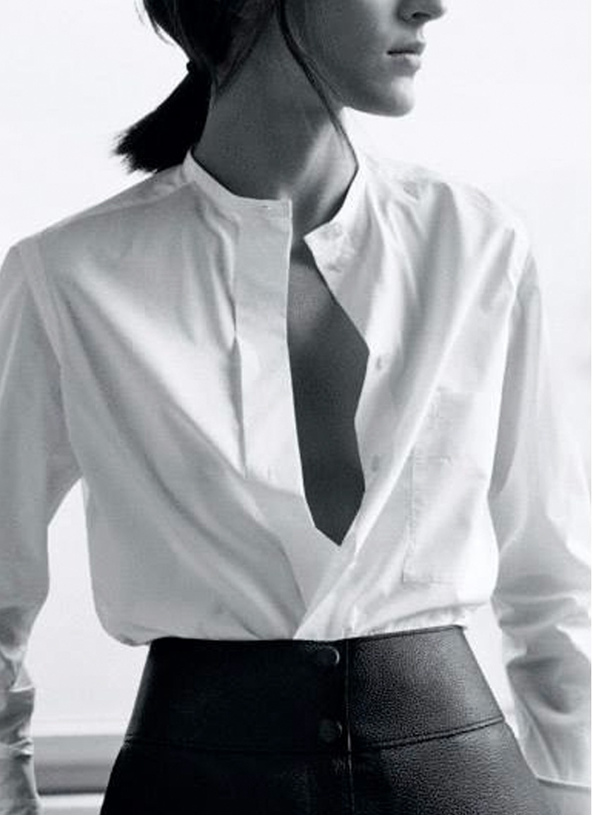 What To Wear On An Interview The Perfect White Shirt High Waisted