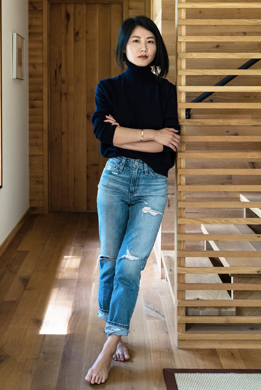 What to Wear This Week: Black Turtleneck Sweater, Distressed Slim ...