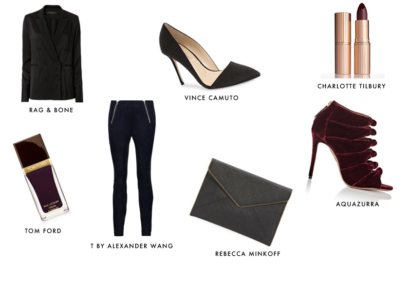 shop the evening look