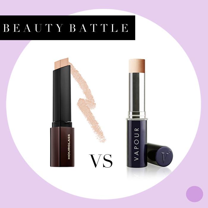 Battle: Hourglass vs. Vapour Foundation Sticks