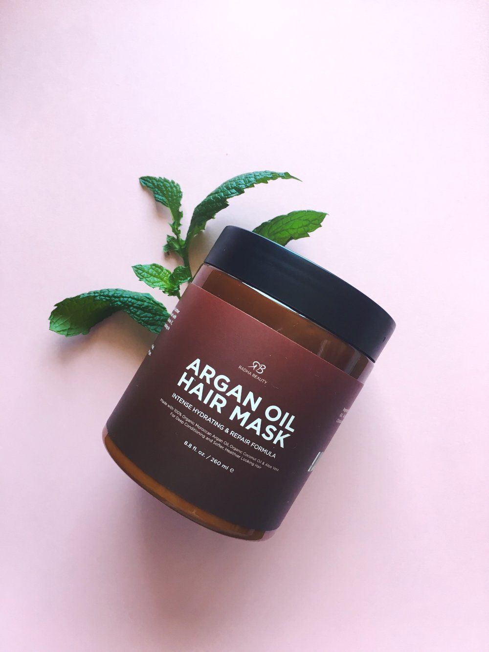 review of radha beauty argan oil hair mask