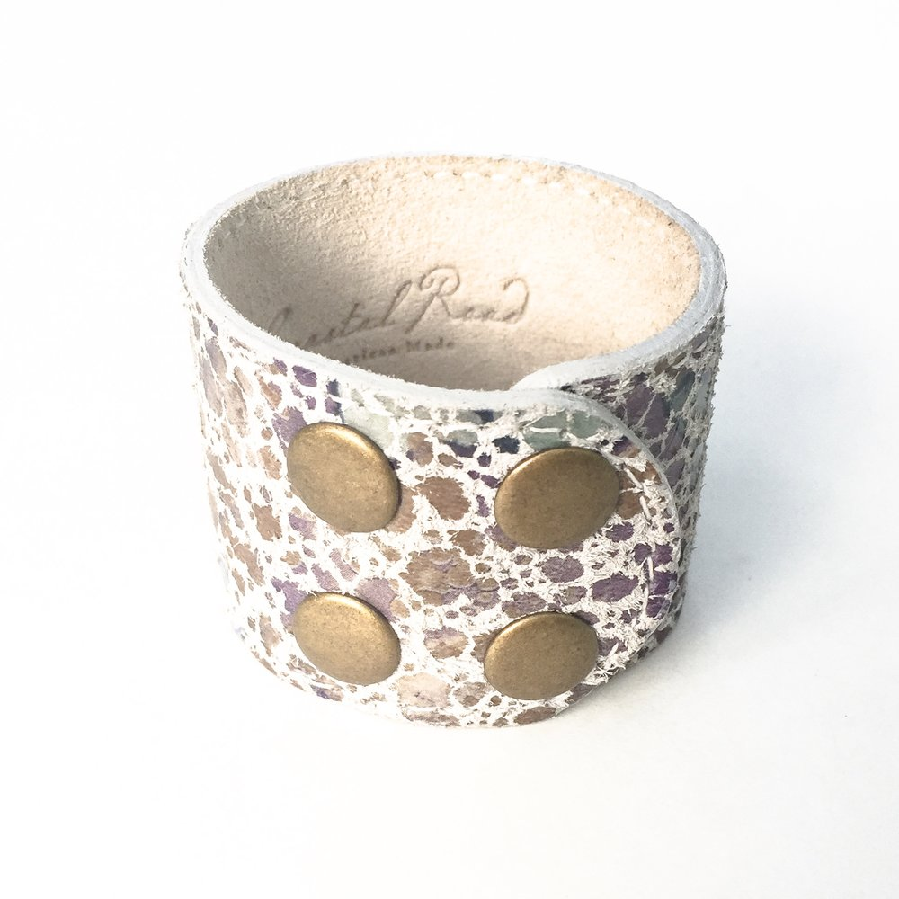 Siena Leather Design Cuff
