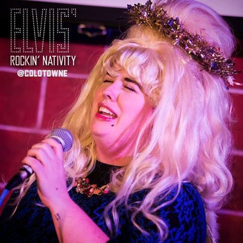 TFW you score tix to Elvis' Rockin' Nativity because those suckers are going fast!! ColdTowne.com