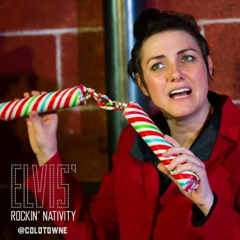 We have a gift for you. It's called Elvis' Rockin' Nativity. Tix at ColdTowne.com through Dec 17