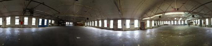 NEW DIGS for RAIL YARD STUDIOS…FINALLY! We've been searching for 8 months for a home for Rail Yard Studios and Railroad Services so we could consolidate all of our operations into one, and now we finally have it! Check out the 360 view of the raw space (you can get the 360 app for your iPhone and take your own panoramic shots - it rocks!) 12,000 square feet of showroom, studio and office space. High ceilings, lots of light and even some really special hardwood floors underneath a lot of paint that we are busy refinishing.