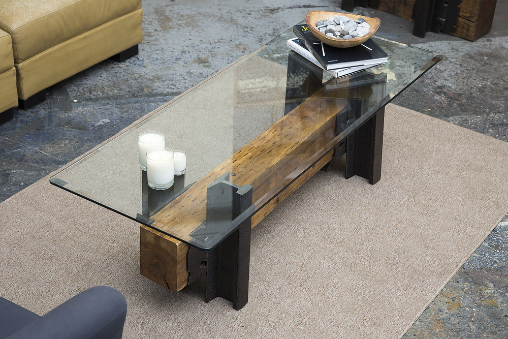 Awesome Double Track Coffee Table