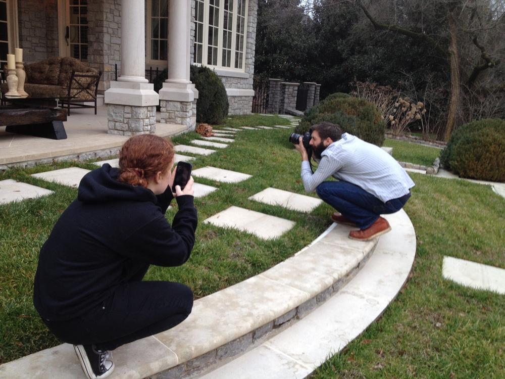 Rail Yard Studios photo shoot
