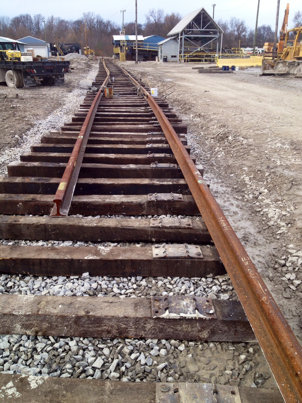 Railroad work - the source of materials at Rail Yard Studios