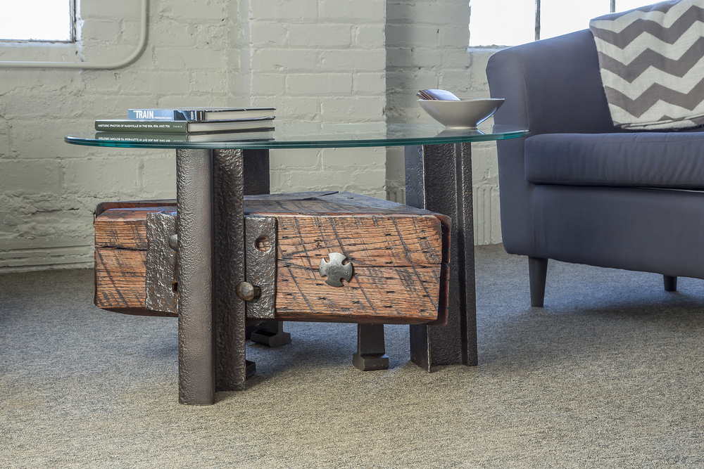 Triangle Coffee Table Custom Furniture Nashville Artisan