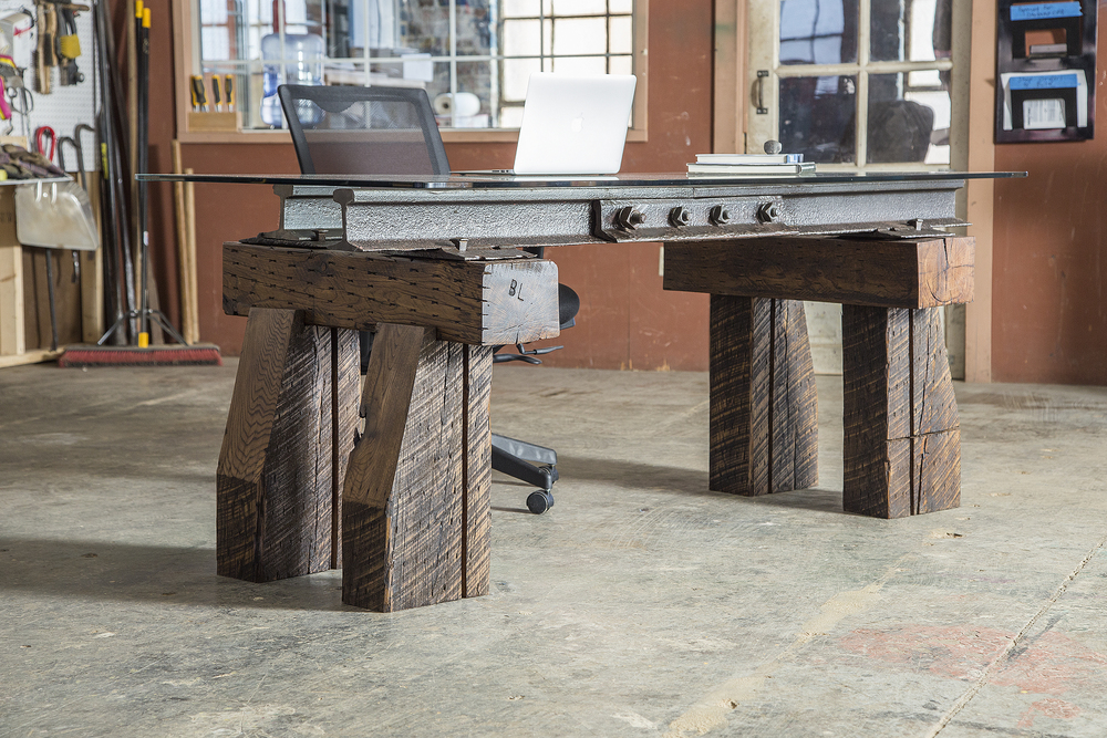 Knuckle Desk from Rail Yard Studios