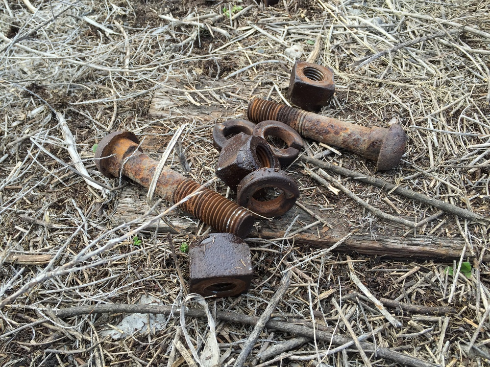 Railroad bolts from Rail Yard Studios
