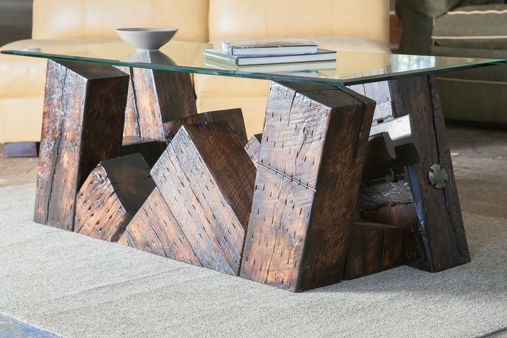 Derailment Coffee Table Custom Furniture Nashville Artisan