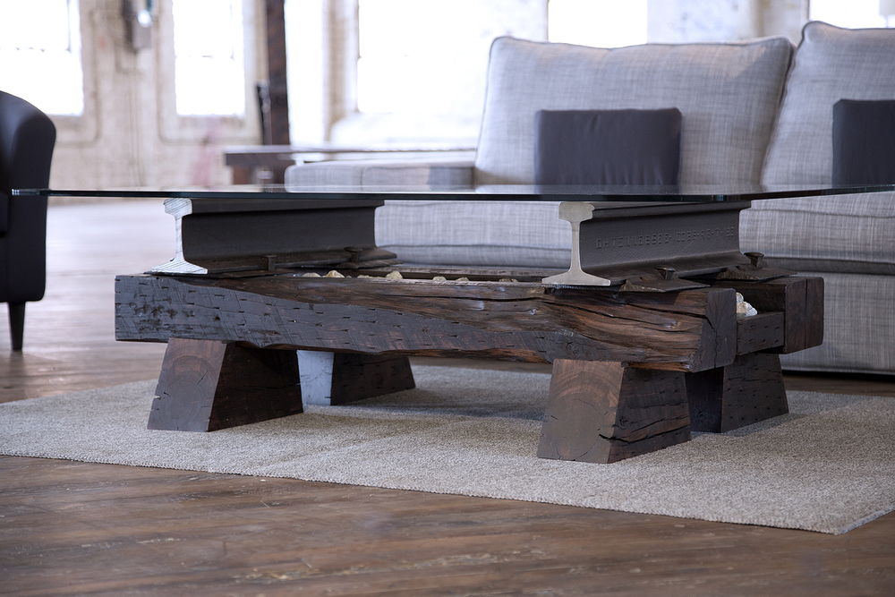 Sleepers Coffee Table No. 22 from Rail Yard Studios