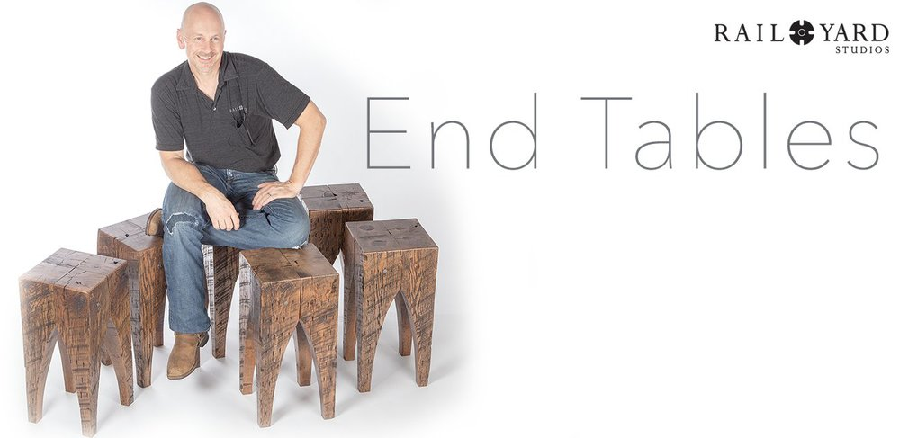 Four Square End Tables