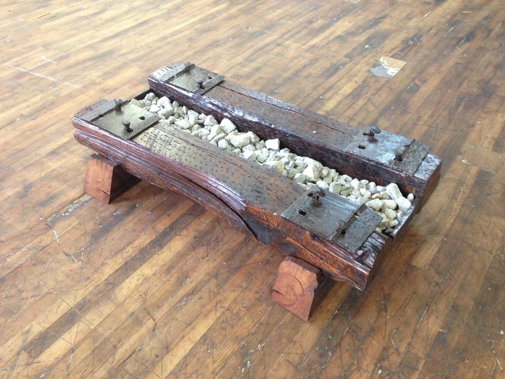 Install Granite Ballast