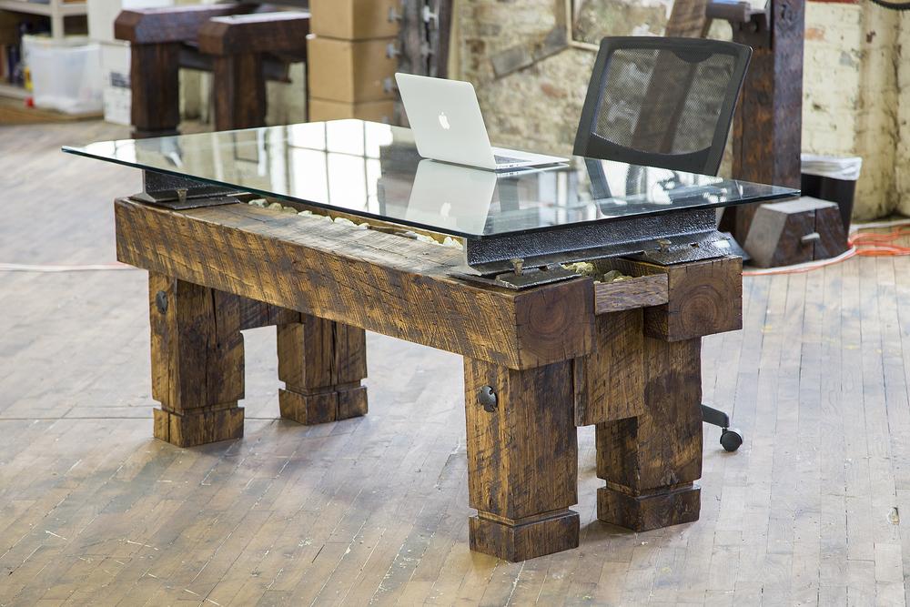 Custom Desk Designs desk & office custom furniture design nashville - artisan designed