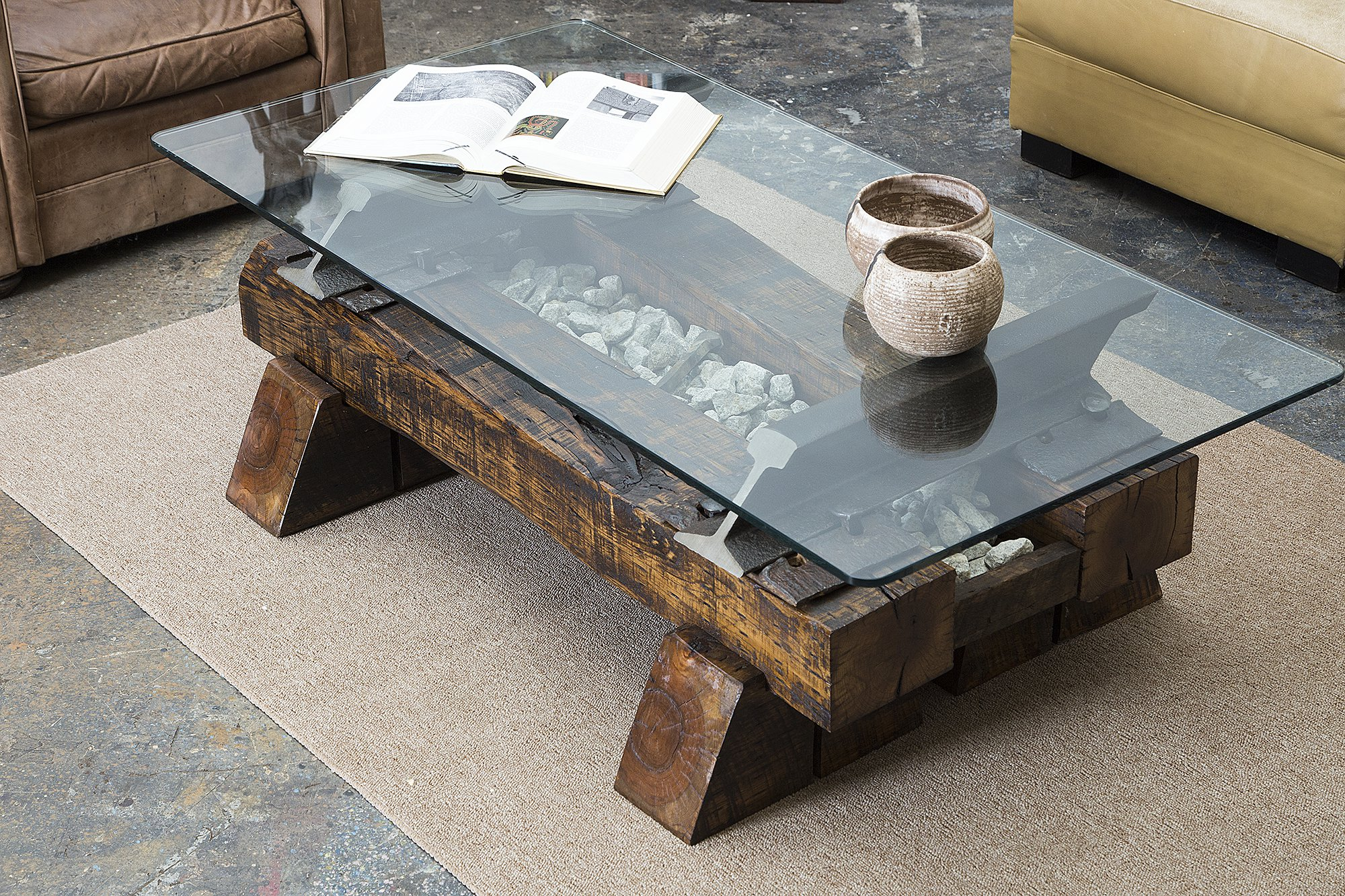 Railroad Tie Coffee Table Part 23 Looks Like Railroad Ties Diy