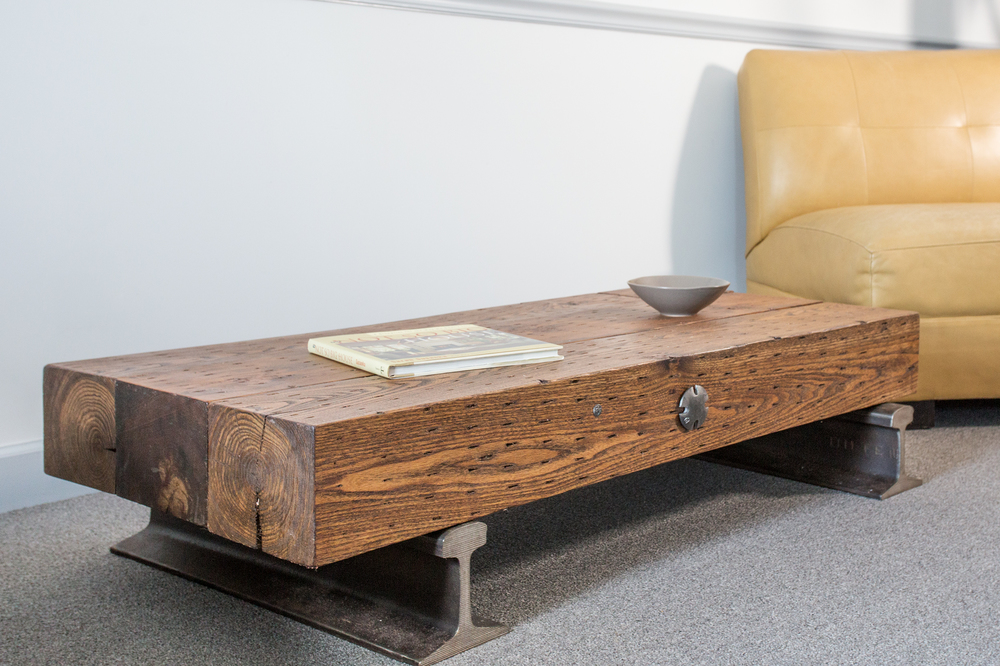 sleepers coffee table - custom furniture nashville - artisan