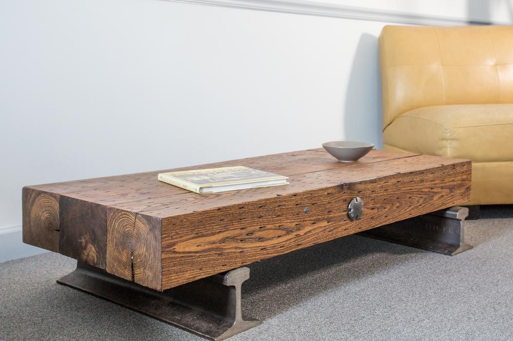 Flatcar Coffee Table No 34 Custom Furniture Nashville