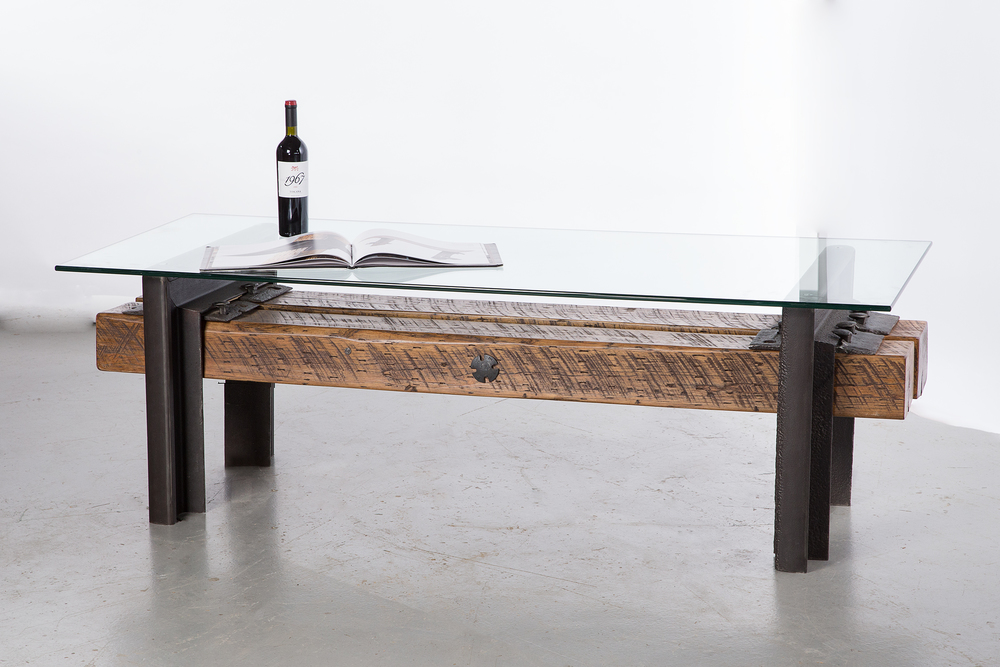 Roadmasters BenchCoffee Table No 14 Custom Furniture