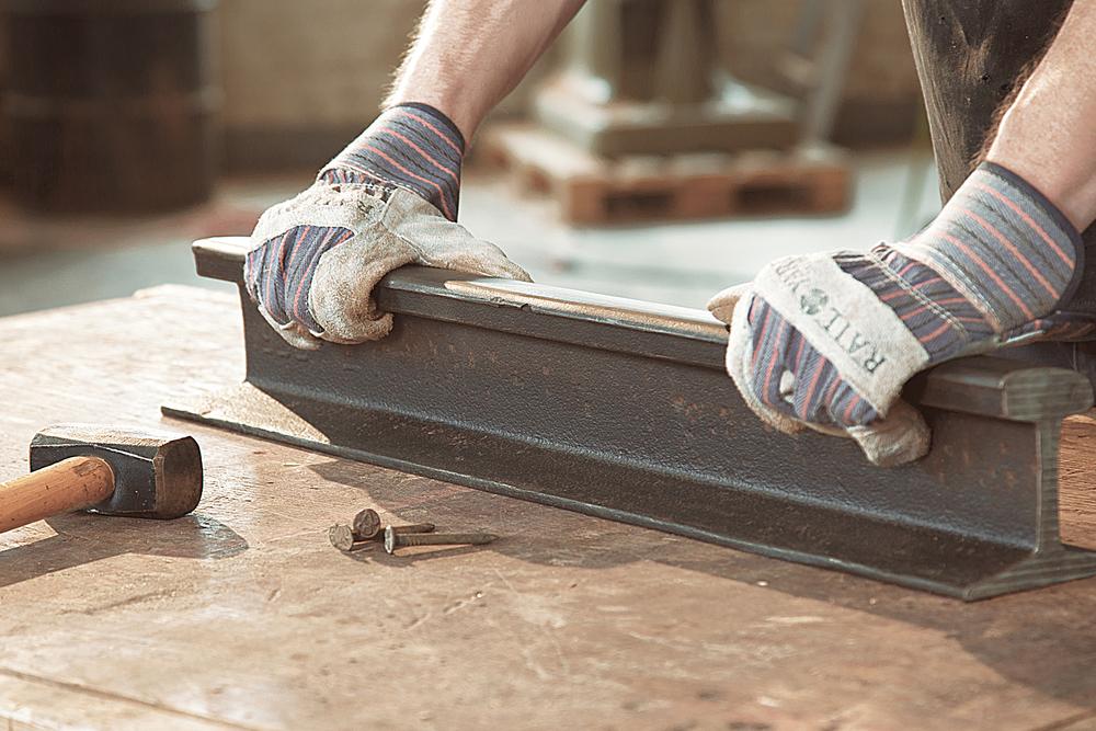 Rail Cutting Building Custom Furniture Rail Yard Studios